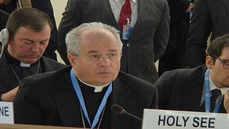 Mgr Ivan Jurkovic, observateur permanent du Saint-Siège à l'Onu.