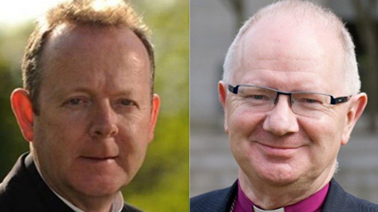 Catholic Archbishop of Armargh Eamon Martin and Anglican Archbishop Richard Clarke: Anglican Communion News Service
