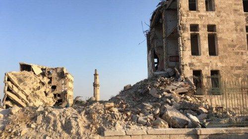 Llamamiento del Papa por Siria: decidido compromiso para poner fin a la crisis