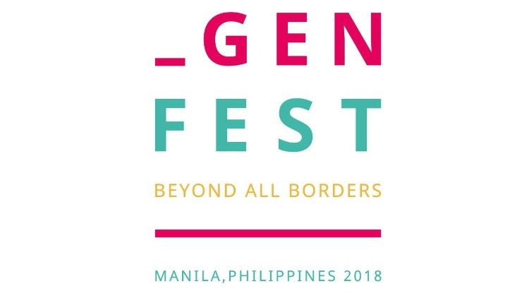 Logo of Genfest 2018 in Manila, the Philippines.
