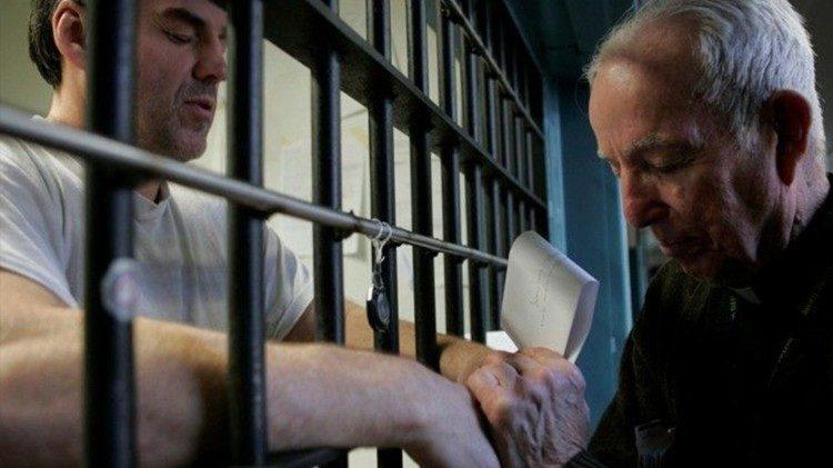 La confessione in un carcere