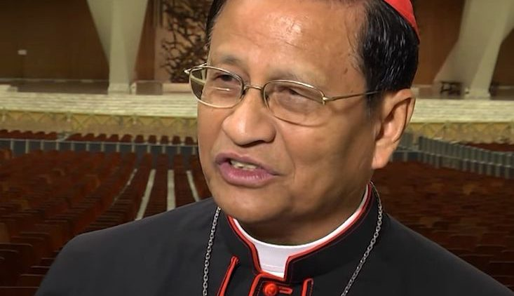Il cardinale Charles Maung Bo