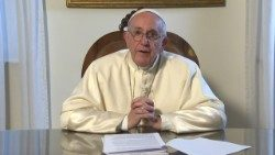 Pope Francis addresses the International Forum on modern day slavery in Buenos Aires