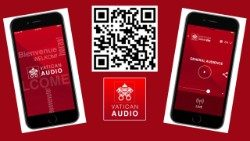 """Vatican Audio"" app."