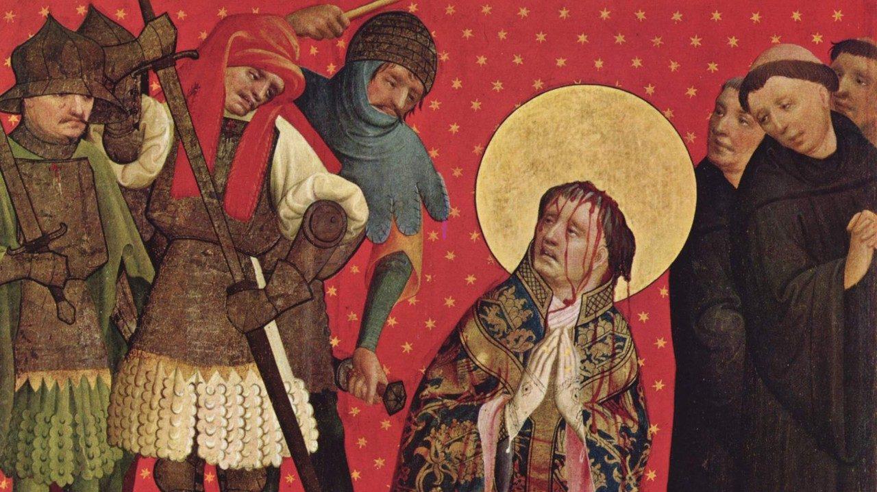 Relics of St Thomas Becket dis...