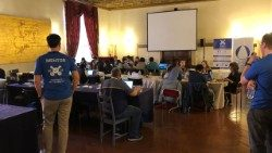 Participants in the Vatican Hackathon
