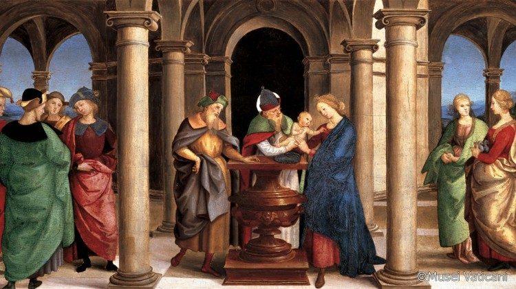 La Présentation de Jésus au Temple, Raphaël, Pinacothèque du Vatican