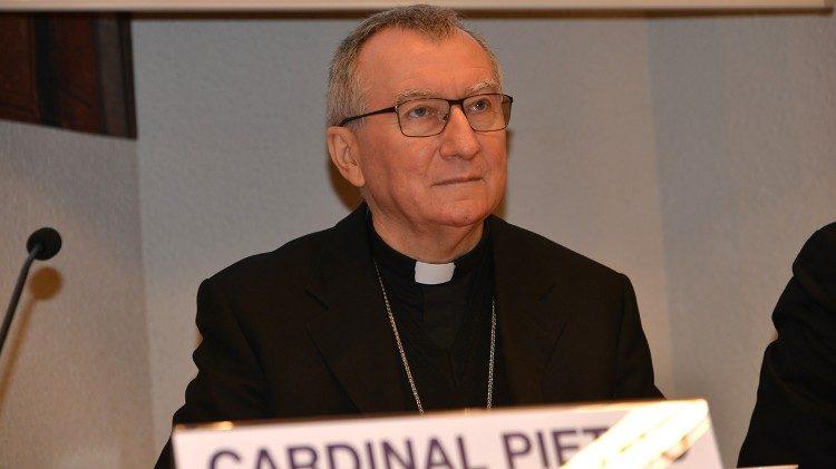 Cardenal Secretario de Estado Pietro Parolin