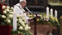 Pope Francis at Mass on World Day for Consecrated Life