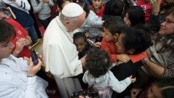 Pope Francis urges primary school teachers to promote respect for others and for the environment