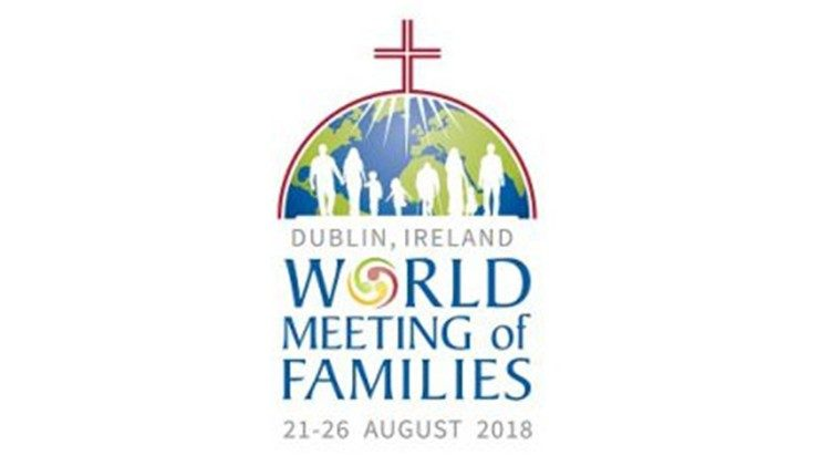 Logo for the IX World Meeting of Families