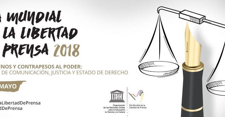 Día Mundial de la Libertad de Prensa, organizado por la UNESCO.