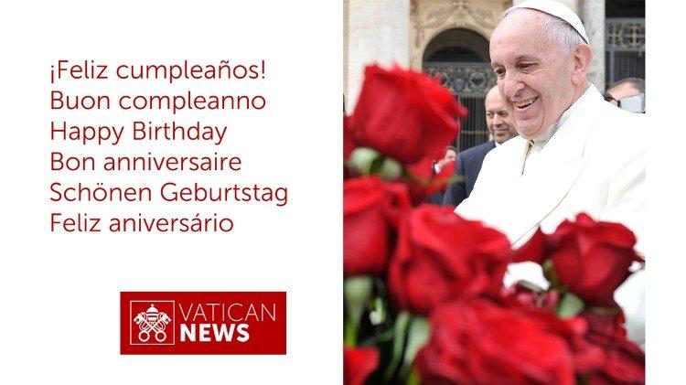 Foto cover auguri Papa per il Portale