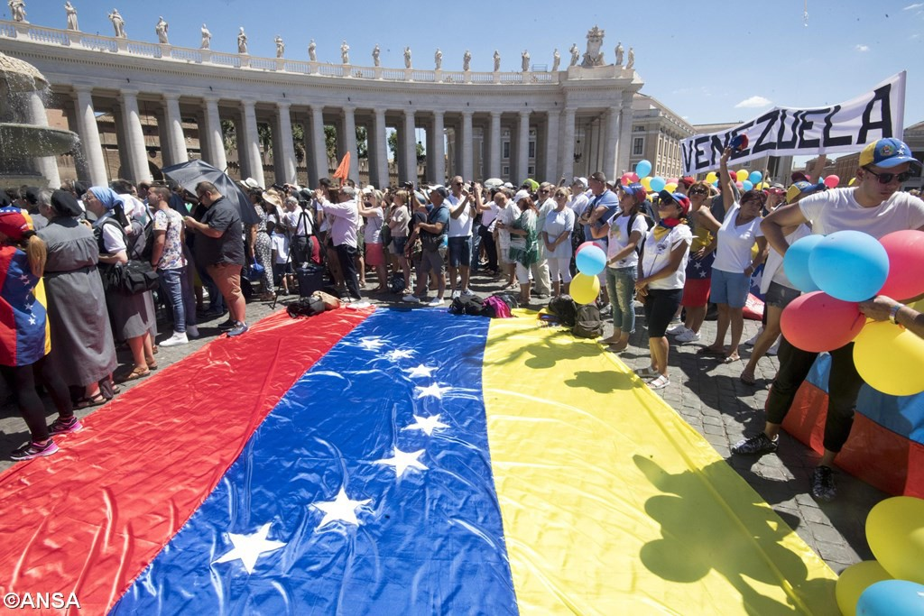 "Pope Francis makes an appeal for ""Beloved"" Venezuela"