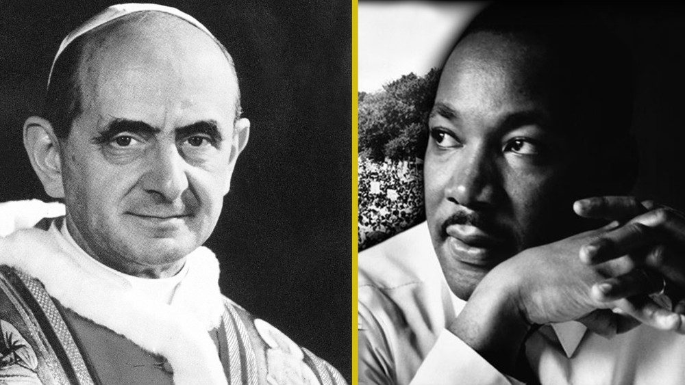 Pope Paul VI and Martin Luther King