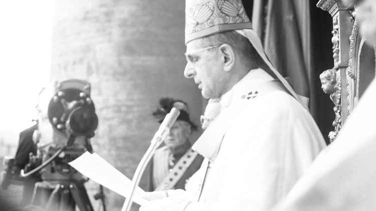 São Paulo VI, Missa de Páscoa na Praça de São Pedro