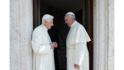 Fraternal encounters between two Popes
