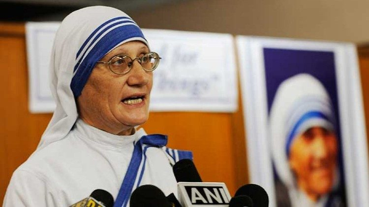 Sister Mary Prema, the superior general of the Missionaries of Charity (MC) sisters of Mother Teresa.