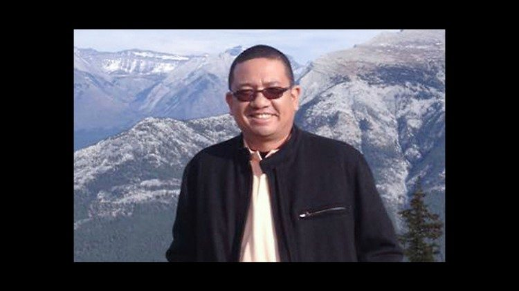 Fr. Richmond Nilo, the Philippine priest killed on June 10, 2018, in Luzon island.