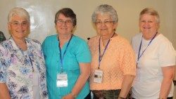 Sr. Imelda Poole IBVM (2nd from left).