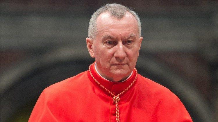 Cardenal Pietro Parolin, Secretario de Estado de la Santa Sede.