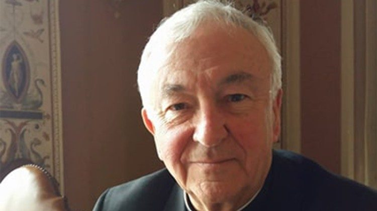 Cardinal Vincent Nichols who is attending the Santa Marta conference in the Vatican on February 8th and 9th