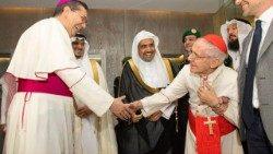 Cardeal Tauran na Arábia Saudita: a religião é o que uma pessoa tem de mais precioso