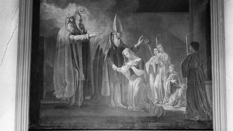 Consecration of St Genevieve
