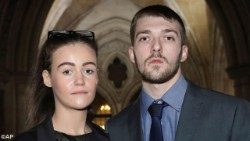Tom Evans e Kate James, genitori di Alfie Evans