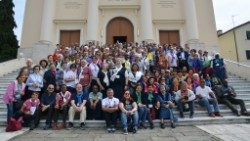 Pauline Cooperators on pilgrimage to Italy celebrate the centary of their foundation