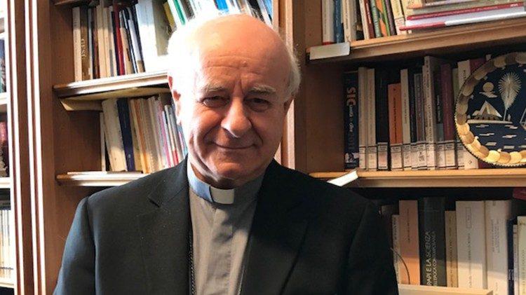 Mgr Vincenzo Paglia, président de l'Académie pontificale pour la Vie.
