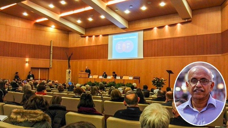 Vatican's workshop on palliative care in Rome. Inset- Dr. M.R. Rajagopal.