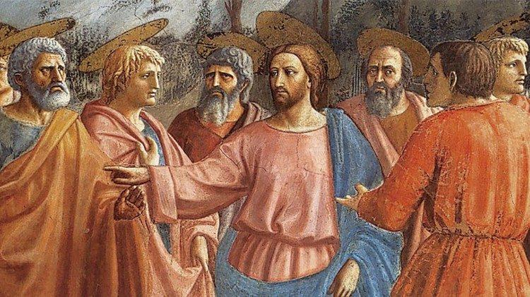 Gesù inivia i discepoli Andate per le strade
