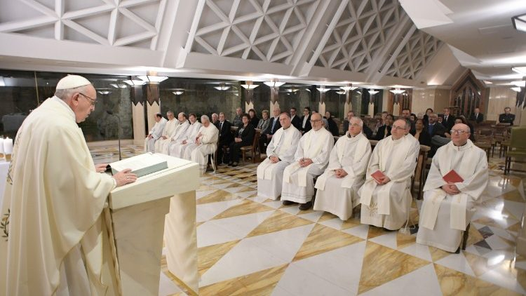 Pope at Mass: 'Contempt for the weak is work of Satan'