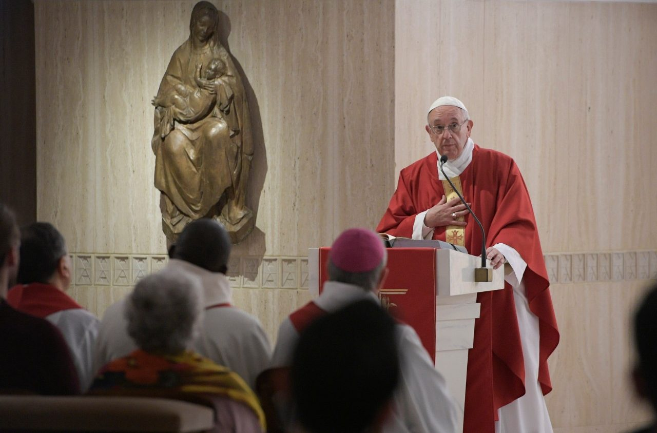 Pope Mass: Our churches should be for service, not supermarkets