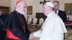 Pope Francis and Cardinal Sean O'Malley