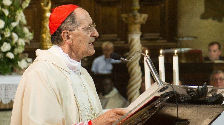 Il cardinale Beniamino Stella