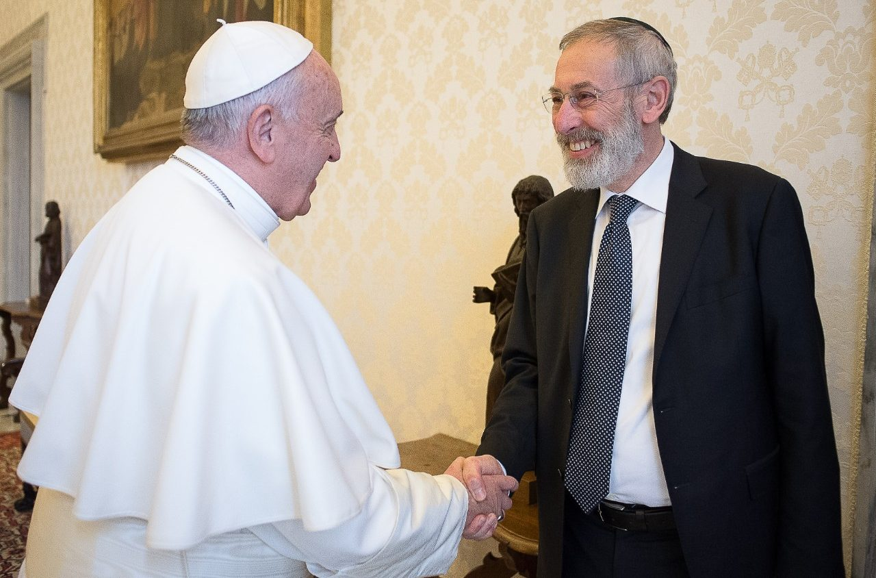 Pope francis sends passover greetings to romes jewish community pope francis sends passover greetings to romes jewish community vatican news kristyandbryce Gallery
