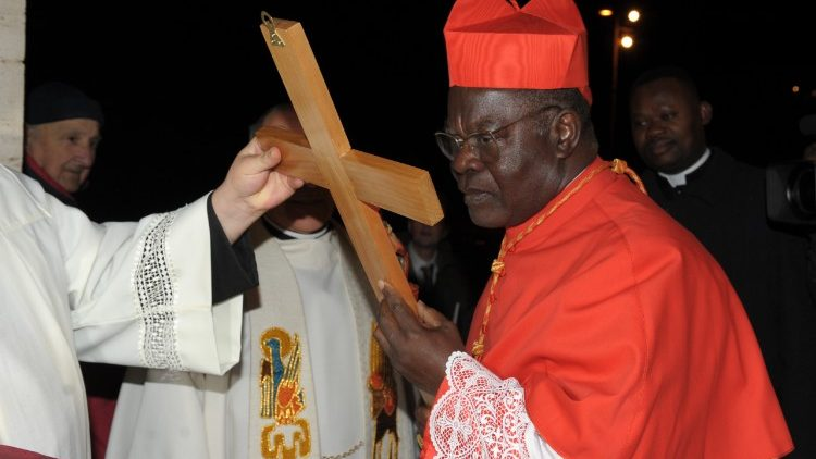 Cardinale Laurent Monsengwo Pasinya of Kinshasa, Democratic Republic of Congo