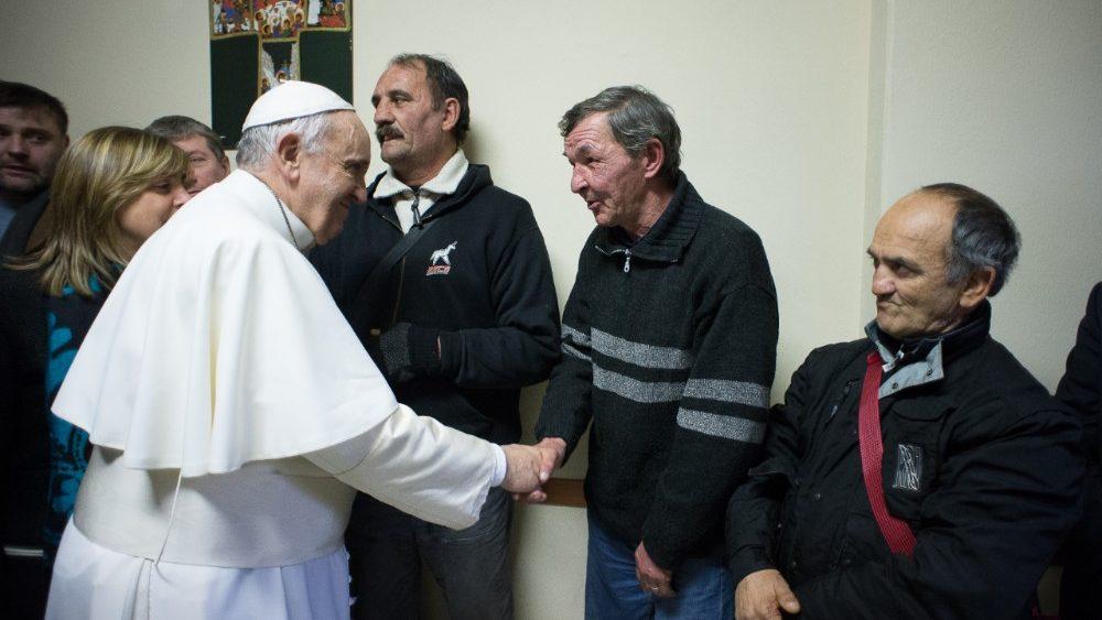Francisco, con los pobres