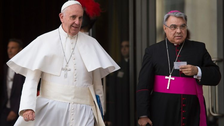 Papa Francisco e Dom Marcello Semeraro