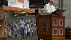 Prayer for peace in the Democratic Republic of the Congo and South Sudan 23 November 2017