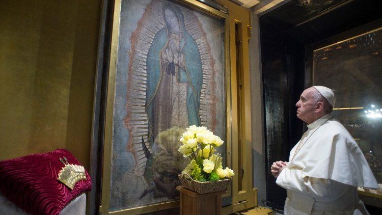 Papa celebrará missa no Vaticano na festa de Guadalupe