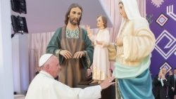 Pope Francis and the Holy Family