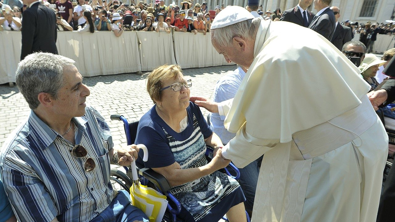 Pope: Make the world more human by guaranteeing the dignity of the disabled - Vatican News