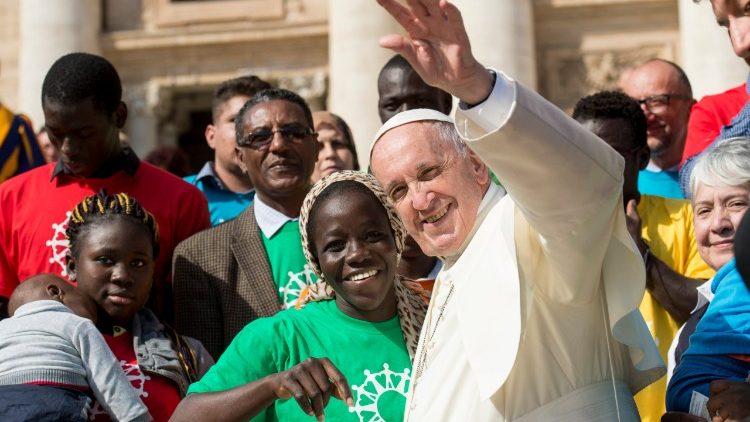 El Papa y los migrantes