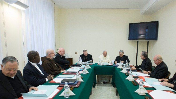 Consejo de Cardenales, foto de archivo de 2017