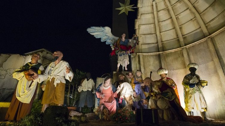 Nativity Scene in St Peter's Square