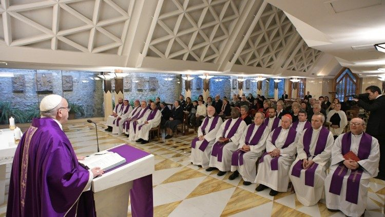 Pope: there are no threats in the confessional – only forgiveness