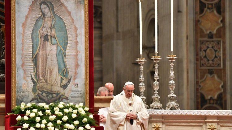 Nossa Senhora de Guadalupe, padroeira da América